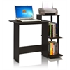 Efficient Home Laptop Notebook Computer Desk, Espresso/Black