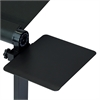 Mousepad Attachable to Aluminum Folding Laptop Notebook Tray Stand, Black (Lapdesk is not included)