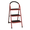 EASi 3-Step Folding Step Stool, Red