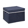 Non-Woven Fabric Heavy-Duty Storage Organizer, Dark Blue