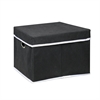Non-Woven Fabric Heavy-Duty Storage Organizer, Black