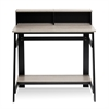 Simplistic A Frame Computer Desk, Black/French Oak Grey