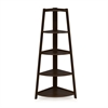 Yaotai 5-Layer Corner Ladder Garden Shelf, Espresso