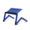 Ergonomics Aluminum Vented AdJustable Multi-functional Laptop Desk Portable Bed Tray