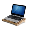 Bamboo Notebook Cooling Desk Tray, Natural