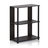 JAYA Simple Design Bookcase, Walnut,