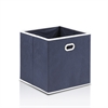 LACi Non-Woven Fabric Soft Storage Organizer, Dark Blue