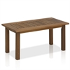 Tioman Hardwood Outdoor Coffee Table in Teak Oil