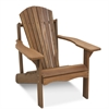 Tioman Hardwood Adirondack Patio Chair in Teak Oil