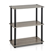 Turn-N-Tube 3-Tier Compact Multipurpose Shelf Display Rack