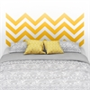 South Shore Step One Yellow Chevron Headboard Ottograff Wall Decal