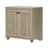 South Shore Hopedale 2-Door Storage Cabinet, Rustic Oak