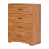 South Shore Step One 4-Drawer Chest, Country Pine