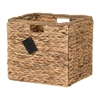 South Shore Storit Beige Rattan Basket