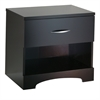 South Shore Step One 1-Drawer Nightstand, Chocolate