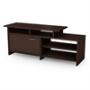 South Shore Step One TV Stand  , Chocolate