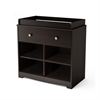 South Shore Little Teddy Changing Table, Espresso
