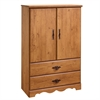 South Shore Prairie Armoire, Country Pine