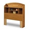 South Shore Prairie Twin Bookcase Headboard (39''), Country Pine