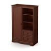 South Shore Savannah Armoire, Royal Cherry
