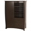 South Shore Beehive Armoire with Drawers, Espresso