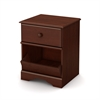 South Shore Little Treasures 1-Drawer Nightstand, Royal Cherry
