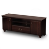 South Shore Noble TV Stand for TVs up to 60'', Dark Mahogany