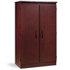 South Shore Morgan 2-Door Storage Cabinet, Royal Cherry