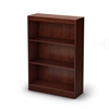 South Shore Axess 3-Shelf Bookcase, Royal Cherry