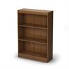 South Shore Axess 3-Shelf Bookcase, Morgan Cherry