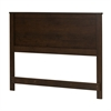 "South Shore Fynn Full-Size Headboard (54""), Brown Oak"