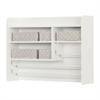 South Shore Crea Pure White Craft Storage Hutch