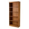 South Shore Axess 5-Shelf Bookcase, Country Pine