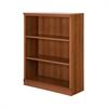 South Shore Morgan 3-Shelf Bookcase, Morgan Cherry