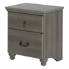 South Shore Noble 2-Drawer Nightstand, Gray Maple