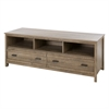 South Shore Exhibit TV Stand for TVs up to 60'', Weathered Oak