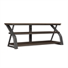 Frankfort TV Stand for TVs up to 65 inches, Umber Oak