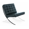 Barcelona Style Chair Black