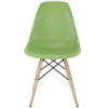 Classic Dining Side Chair Green, set of 4