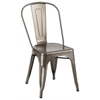 Tolix Dining Chair Gunmetal, set of 4