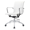 Bucharest Office Chair, White
