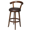 "Columbia 26"" Swivel Stool, Brown"