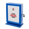 Adir Corp. Customizable Wood Suggestion Box-Blue