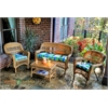 Tortuga Outdoor Portside 4Pc Seating - Amber - Haliwell Caribbean