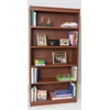 "Essentials Laminate Bookcase, 84""H Cherry Laminate, 1"" thick adj  steel reinforced shelves"