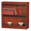 "Excalibur heavy duty shelf 36""H wood veneer bookcase, California Medium Oak"