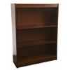 """Contemporary 48""""H wood veneer bookcase, California Medium Oak"""