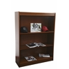 "Excalibur heavy duty shelf 48""H wood veneer bookcase, California Medium Oak"