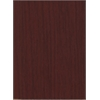 "Essentials Laminate Bookcase, 60""H Mahogany Laminate, 1"" thick adj steel reinforced shelves"