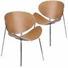2 Pk. Beech Bentwood Leisure Reception Chair
